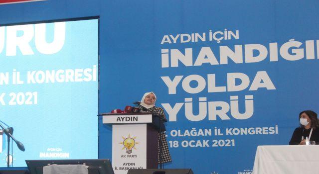 Aile Bakanı Selçuk'tan Aydın'a istihdam müjdesi