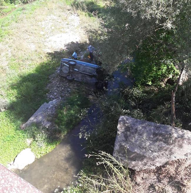 39195298 2333598543347205 776822518555082752 n - Çameli'de otomobil köprüden dereye uçtu: 1 yaralı