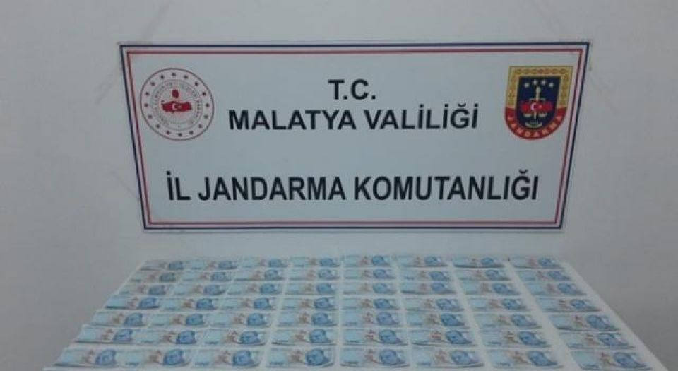 Malatya'da sahte banknotlar ele geçirildi