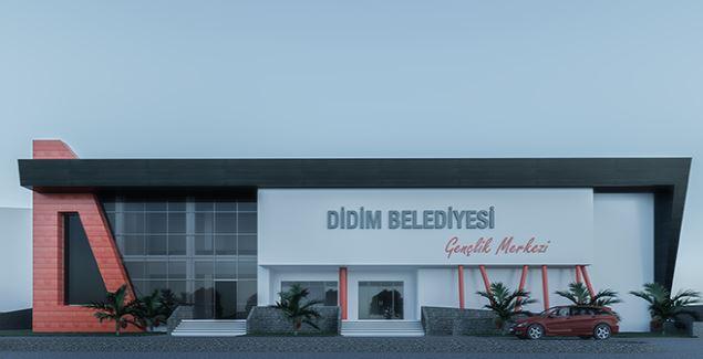 Aydın Didim'de Gençlik Merkezi inşaatı başlıyor
