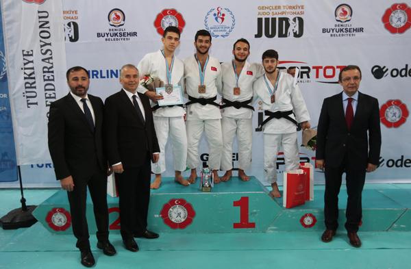 4 473 - Türkiye Gençler Judo Şampiyonası'da Madalyalar Sahiplerini Buldu