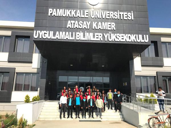 4 658 - Çivril'deki Lise Öğrencilerine Pamukkale Üniversitesi Tanıtıldı