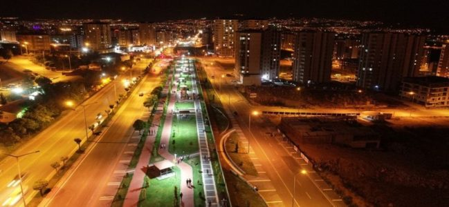 Kayseri Kocasinan'da Erkilet'in çehresi değişiyor
