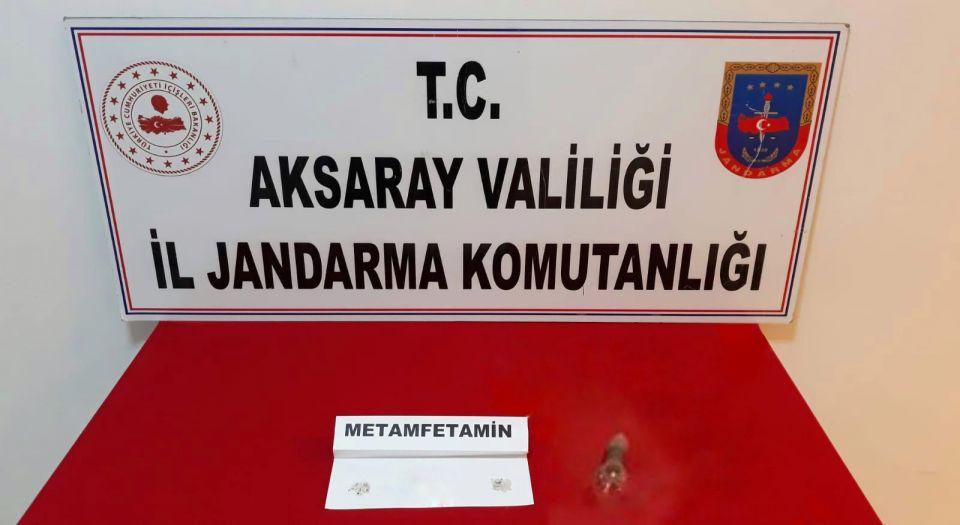 Aksaray'da Jandarma'dan uyuşturucu operasyonu