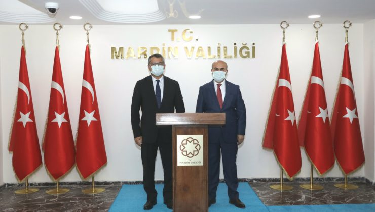Azerbaycan Büyükelçisi'nden Mardin Valiliği'ne ziyaret