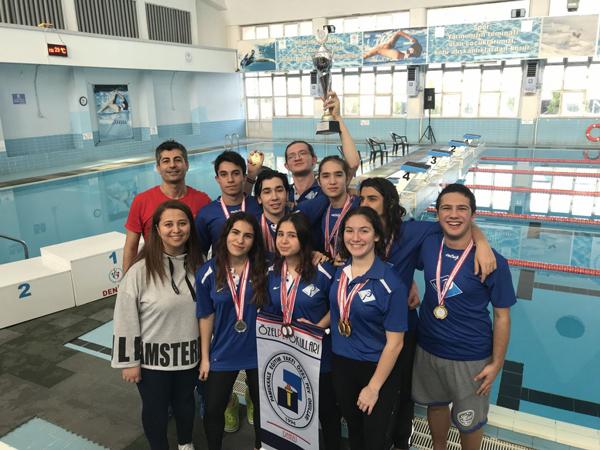 5 274 - Pev Öğrencileri Altın Madalya Kazandılar