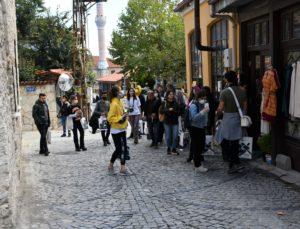 Genç mimar adayları, Buldan'ın kültür mirası evlerini inceledi