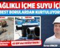 Aksaray'da asbestli borular değişiyor