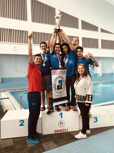 6 177 - Pev Öğrencileri Altın Madalya Kazandılar