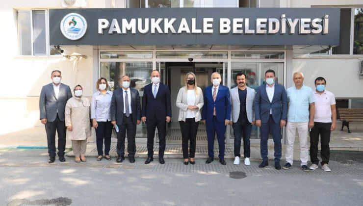 AK PARTİ YEREL YÖNETİMLER BAŞKAN YARDIMCISINDAN, BAŞKAN ÖRKİ'YE ZİYARET