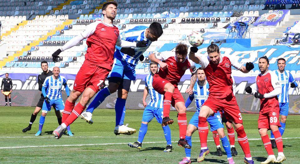 BB Erzurumspor:2 – F. Karagümrük: 2