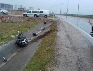 Siirt çevre yolunda korkutucu kaza