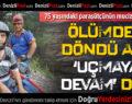 Pamukkale'de 75 yaşındaki paraşütçünün mucize kurtuluşu