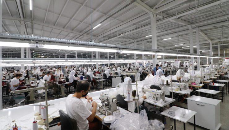 Ekonomiye katkı yapmanın yanında, çok sayıda vatandaşa istihdam sağlayan Deniz tekstil işletmesi açıldı.