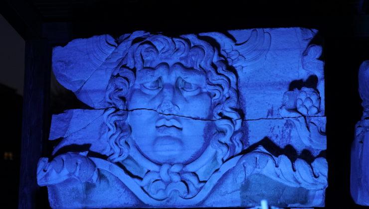 Apollon Tapınağı'nda 'mavi' farkındalık