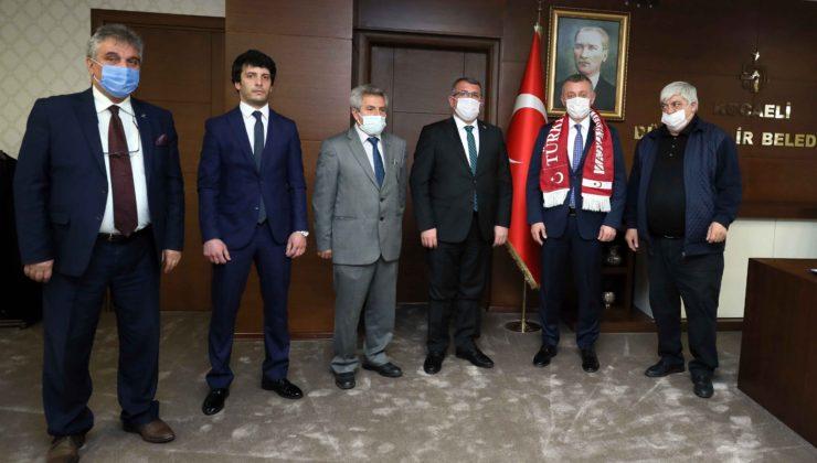 Azerbaycan'dan Kocaeli'ne ziyaret