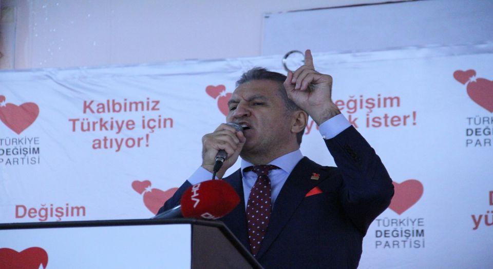 """TDP Lideri Sarıgül Mardin'de… """"Öfke dili yerine sevgi dilini kullanacağız"""""""