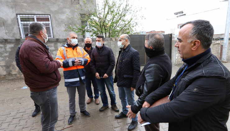 Diyarbakır Ergani'de DİSKİ kaçak su takibinde