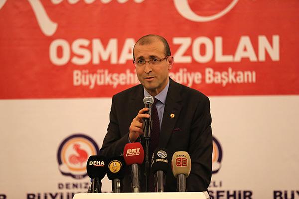 DBBB4534 - Başkan Osman Zolan, Denizli basını ile buluştu