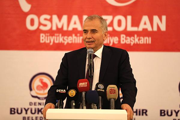 DBBB4594 - Başkan Osman Zolan, Denizli basını ile buluştu