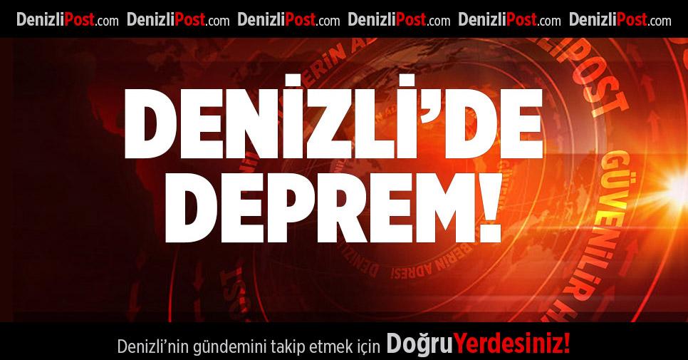 DENİZLİ'DE DEPREM