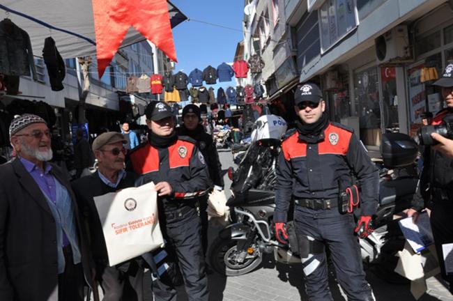 DSC 0055 - Polisten farkındalık için bez torba