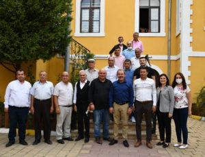 Ak Parti Milletvekili Tin, Başkan Şevik'i ziyaret etti