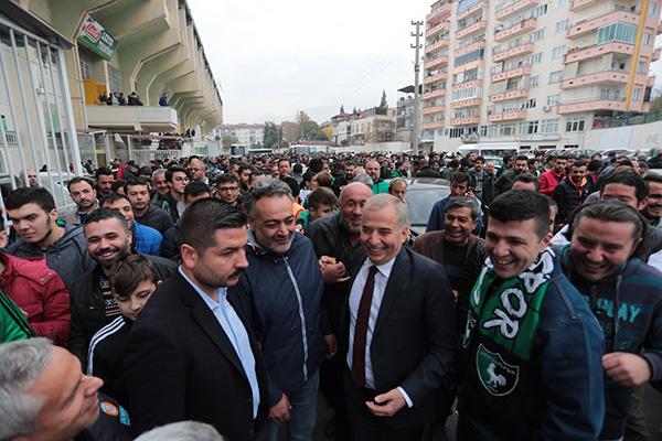 Denizlispor 5 - Galibiyet Başkan Osman Zolan'a