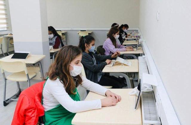 Kocaeli Körfez'de EBA destek sınıflarına ilgi