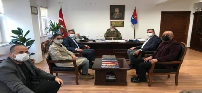 MHP Kilis Teşkilatı Albay Ersin Aslan'ı ziyaret etti
