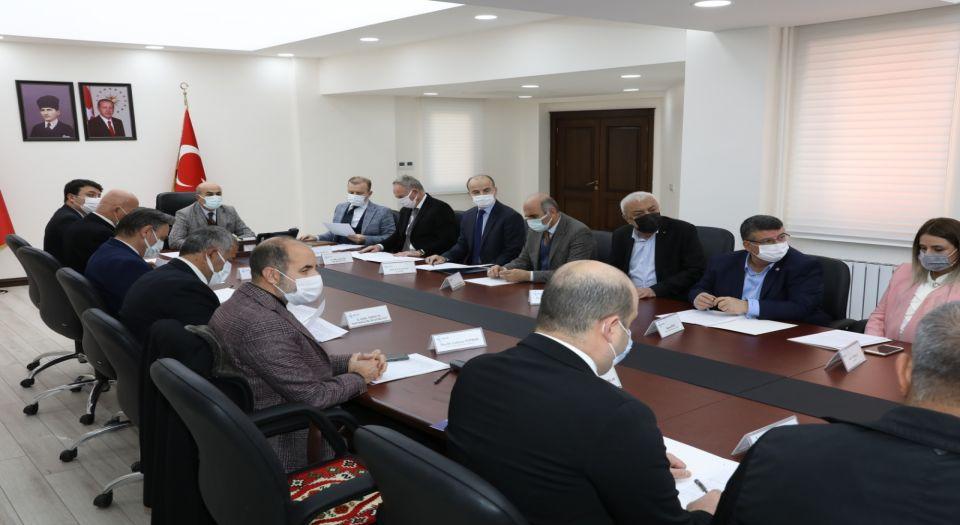 Mardin 'İl İstihdam ve Mesleki Eğitim' için toplandı