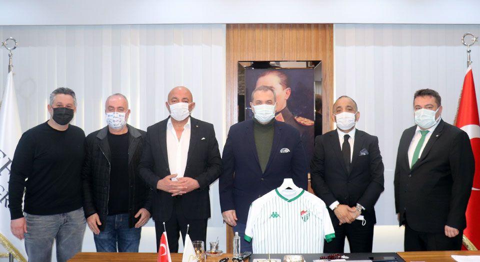 Bursaspor'un Boluspor deplasmanına 'Referans' oldu