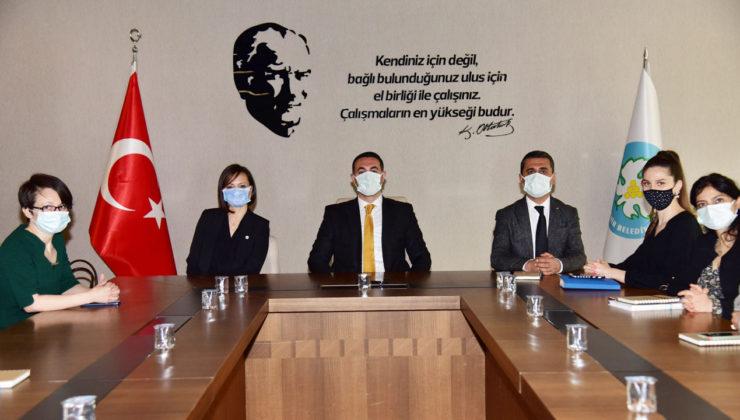 İzmirli çevre mühendislerinden Manisa'ya ziyaret