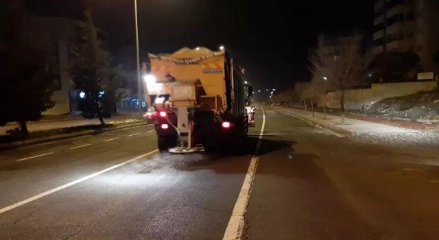 Kahramanmaraş Büyükşehir ulaşımda kar tedbirlerini aldı