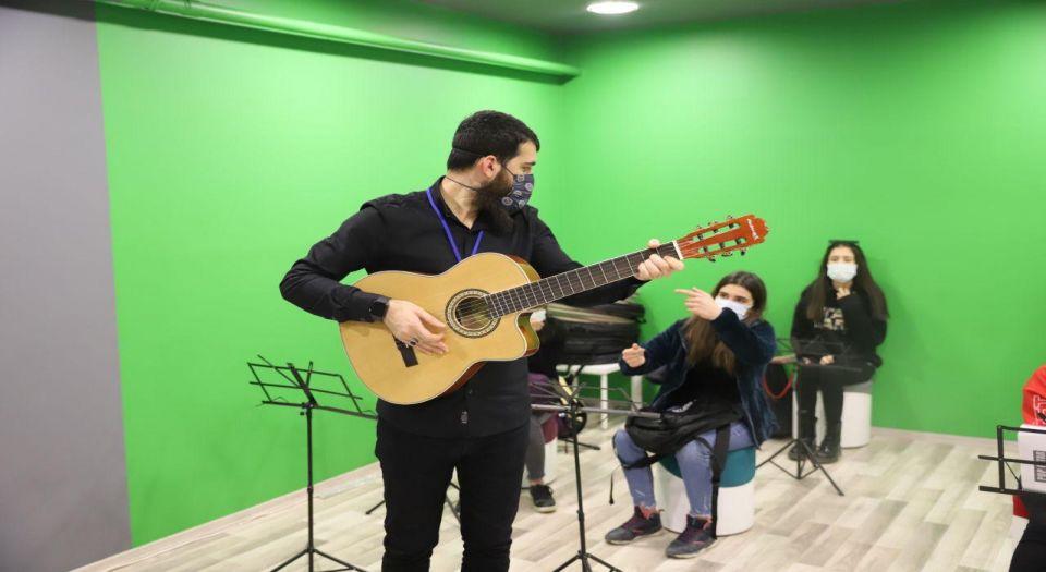 Mardin Büyükşehir Belediyesi'nden gençliğe özel merkez