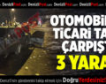 Kocabaş'ta Kaza: 3 Yaralı