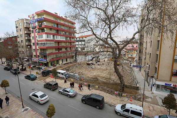 LL8B0043 - PAÜ Hastaneleri'nin Eski Binasının Yıkımında Sona Gelindi