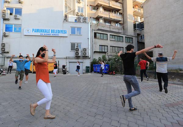 PMKL1884 - PAMUKKALE'DE YAZ KURSLARI BAŞLADI