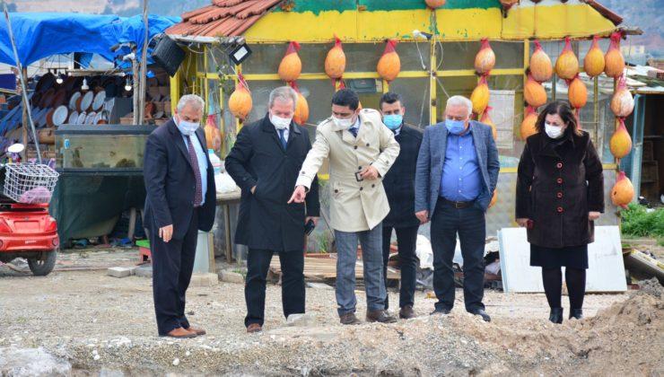 Manisa Kırkağaç'ta alt yapıya prestij yatırımı