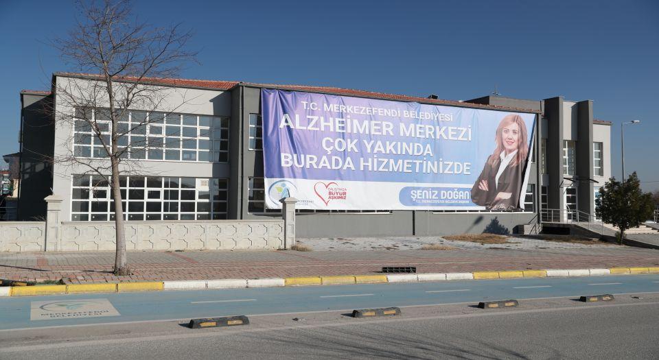 Merkezefendi Belediyesi'nden şehre ilk Alzheimer Merkezi