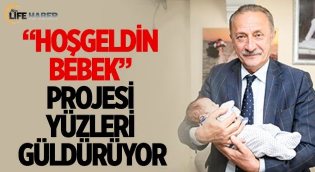 Aydın'da 'hoşgeldin bebek' ile yüzler gülüyor
