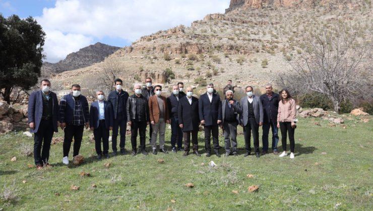 Vali Demirtaş Mardin'de keşiflerini sürdürüyor