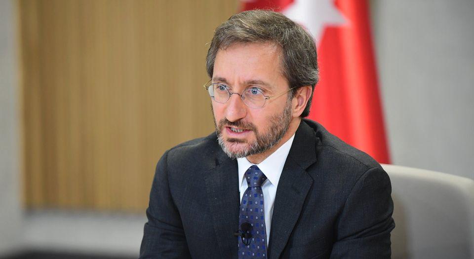 """İletişim Başkanı Fahrettin Altun'dan """"militan"""" tepkisi!"""