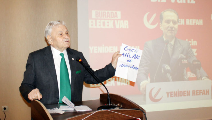 Yeniden Refah Partisi Kocaeli Başiskele'de teşkilatlanıyor