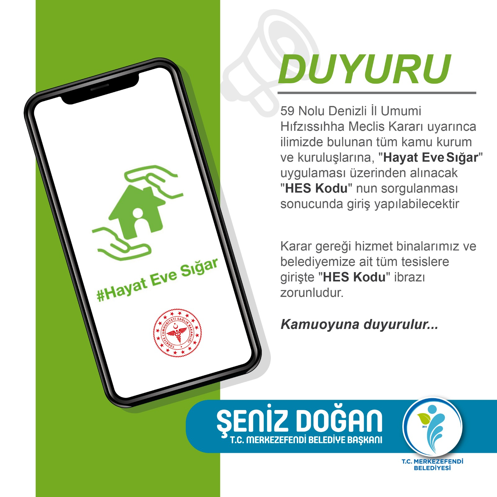 WhatsApp Image 2020 09 20 at 14.43.15 - MERKEZEFENDİ BELEDİYESİ'NDE HES KODU UYGULAMASI