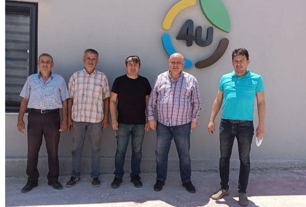 a 106 619x420 - Buldan Belediye Başkanı Mustafa Şevik, evi yanan aileyi ziyaret etti