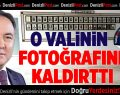 Abdülkadir Demir'in fotoğrafı Denizli Valiliği'nden kaldırıldı