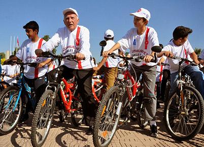 Acıpayam Belediyesi'nden 29 Ekim'de Bisiklet Turu