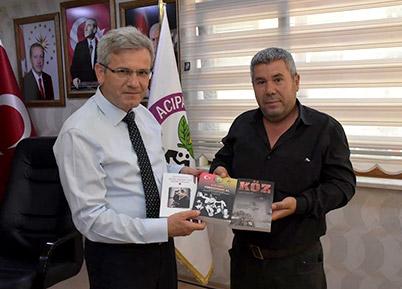 Kitapsever Muhtardan Başkan Şevkan'a Ziyaret