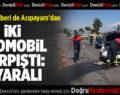Denizli'de otomobiller çarpıştı: 6 yaralı